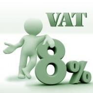 stawka 8% VAT